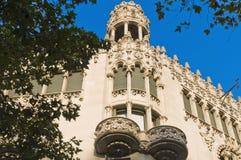 Passeig de gracias street in Barcelona Stock Photography