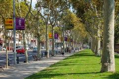 Passeig de Pujades - Barcelona Imagen de archivo