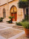 Passeig de Sagrera in Palma of Majorca Stock Images