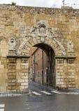 Passeig de Sant Antoni and Torre de Pilats, in Tarragona, Spain Stock Image