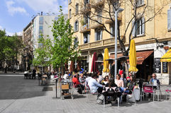 Passeig del Born in Barcelona, Spain Stock Photos