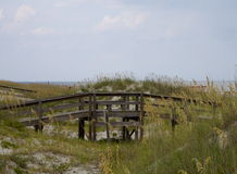 Passeio à beira mar à praia Fotografia de Stock Royalty Free