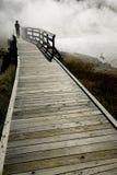 Passeio à beira mar Foto de Stock