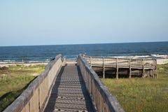 Passeio à beira mar da praia Fotos de Stock Royalty Free