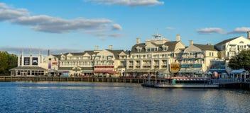 Passeio à beira mar de Disneys Fotos de Stock Royalty Free