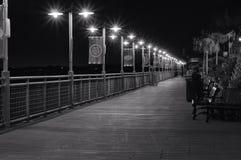 Passeio à beira mar 2 de Kemah Fotografia de Stock