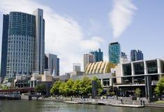 Passeio à beira mar de Melbourne Fotos de Stock