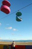 Passeio à beira mar de Santa Cruz Imagem de Stock