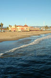Passeio à beira mar de Santa Cruz Foto de Stock Royalty Free