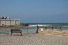 Passeio à beira mar de Telavive Fotografia de Stock Royalty Free