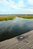 Passeio à beira mar na entrada Fotos de Stock Royalty Free