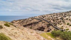 Passeio à beira mar no vale Fotos de Stock Royalty Free