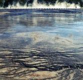 Passeio à beira mar Prismatic grande Foto de Stock
