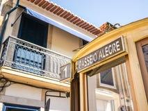 Passeio Alegre Tram Arkivbild