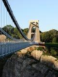 Passeio através da ponte de suspensão de Clifton Fotografia de Stock