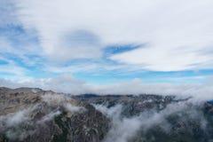 Passeio com as nuvens Foto de Stock Royalty Free