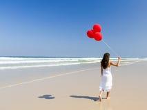 Passeio com ballons Foto de Stock Royalty Free
