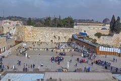 Passeio com o Jerusalém Foto de Stock Royalty Free