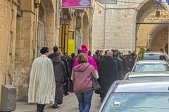 Passeio com o Jerusalém Foto de Stock
