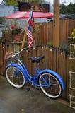 Passeio da bicicleta à barra de vinho Imagens de Stock