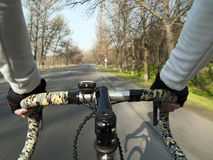 Passeio da bicicleta Fotografia de Stock