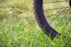 Passeio da bicicleta na montanha fotografia de stock royalty free