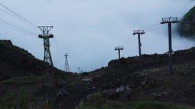 Passeio das montanhas da região de Elbrus vídeos de arquivo