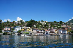 Passeio de Ascona, Switzerland Fotos de Stock Royalty Free