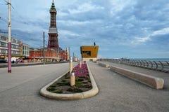 Passeio de Blackpool foto de stock royalty free