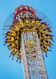Passeio de emoção em Den Bosch Fair nos Países Baixos Imagens de Stock Royalty Free