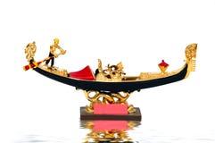 Passeio de Goldola fotografia de stock royalty free