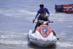 Passeio de Jetski em Bali Imagens de Stock