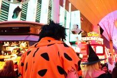 Passeio de Las Vegas Dia das Bruxas Fotos de Stock Royalty Free