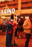 Passeio de Las Vegas Dia das Bruxas Imagens de Stock