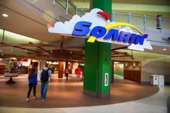 Passeio de Soarin do centro de Epcot do mundo de Disney Foto de Stock
