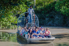 Passeio do Airboat - herdade, FL Foto de Stock