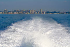 Passeio do barco do continente a Catalina Island foto de stock