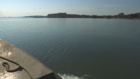 Passeio do barco no Danúbio vídeos de arquivo