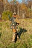 Passeio do caçador Imagens de Stock