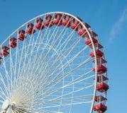 Passeio do carnaval no parque de diversões Imagem de Stock