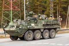 Passeio do Dragoon do exército dos EUA Imagem de Stock Royalty Free