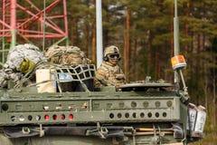 Passeio do Dragoon do exército dos EUA Fotografia de Stock