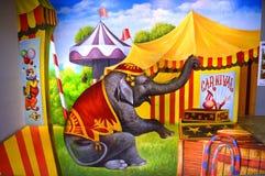 Passeio do elefante Imagem de Stock Royalty Free