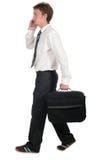 Passeio do homem de negócios Fotos de Stock Royalty Free