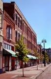 Passeio do negócio da rua principal Foto de Stock Royalty Free