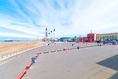 Passeio do Queens de Blackpool Foto de Stock Royalty Free