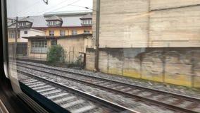 Passeio do trem a Thun video estoque