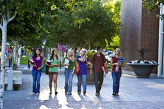 Passeio dos estudantes Fotos de Stock