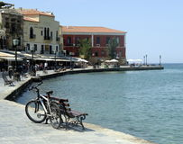 Passeio em Chania Crete Greece Fotos de Stock