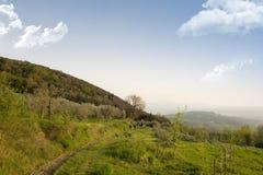 Passeio em montanhas Fotos de Stock